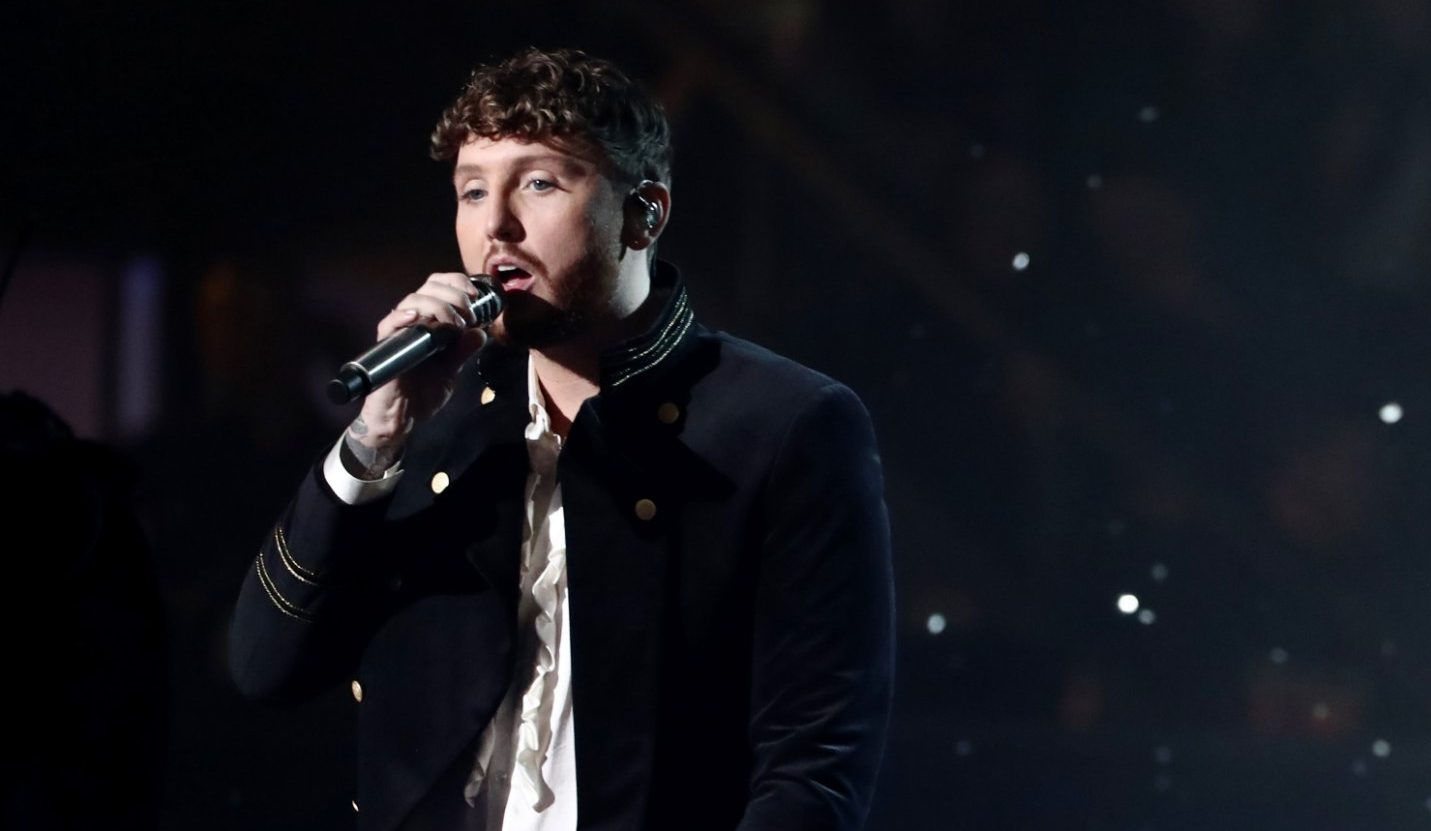 Editorial use only. No book publishing Mandatory Credit: Photo by Dymond/Thames/Syco/REX (10010244in) James Arthur 'The X Factor' TV show, Final, Series 15, Episode 26, London, UK - 01 Dec 2018