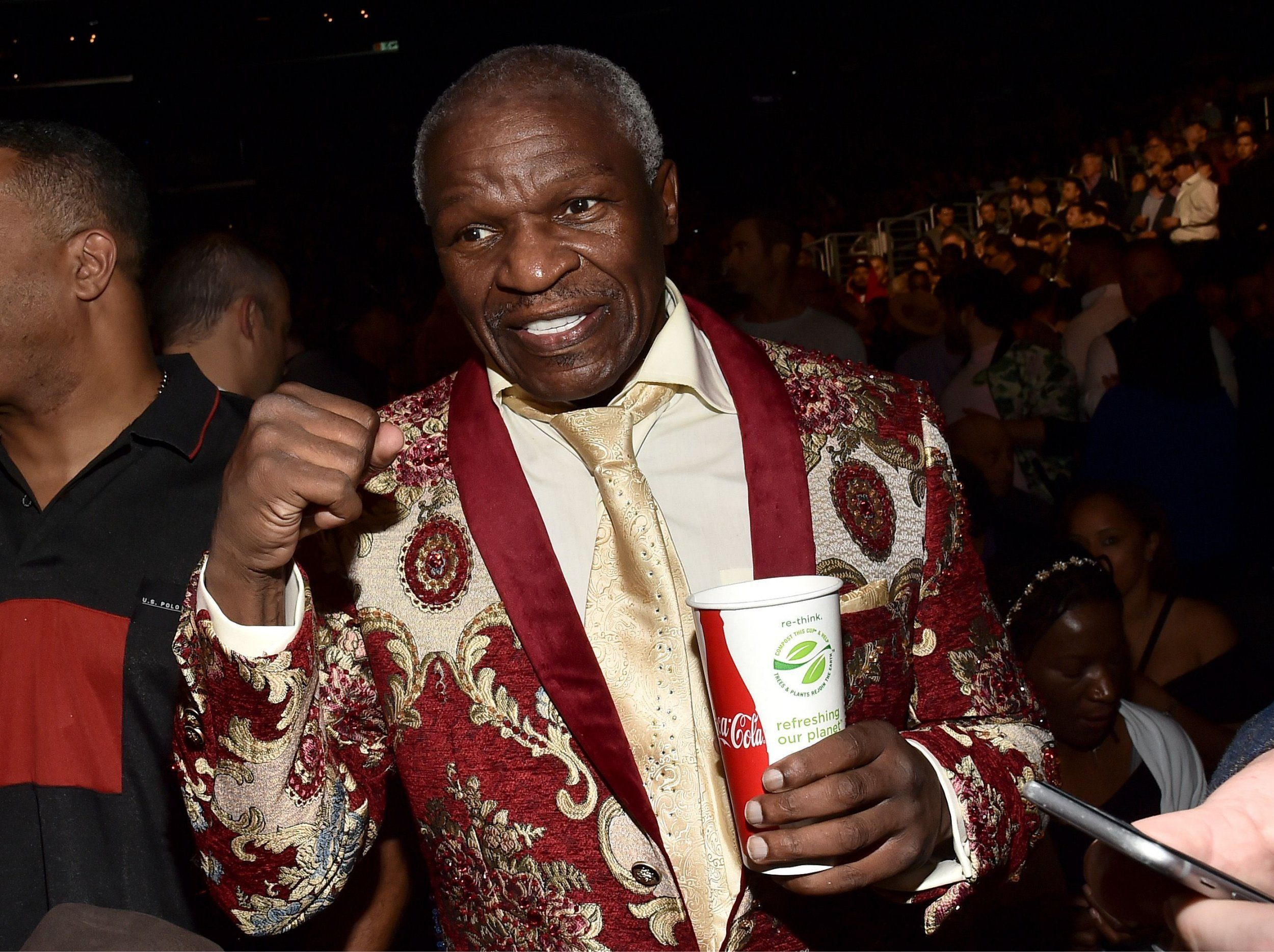 Mandatory Credit: Photo by Michael Buckner/Variety/REX (10011181o) Floyd Mayweather Sr. Showtime PPV presents Heavyweight Championship of the World: 'WILDER vs. FURY' Pre-Event VIP Party, Inside, Los Angeles, USA - 01 Dec 2018