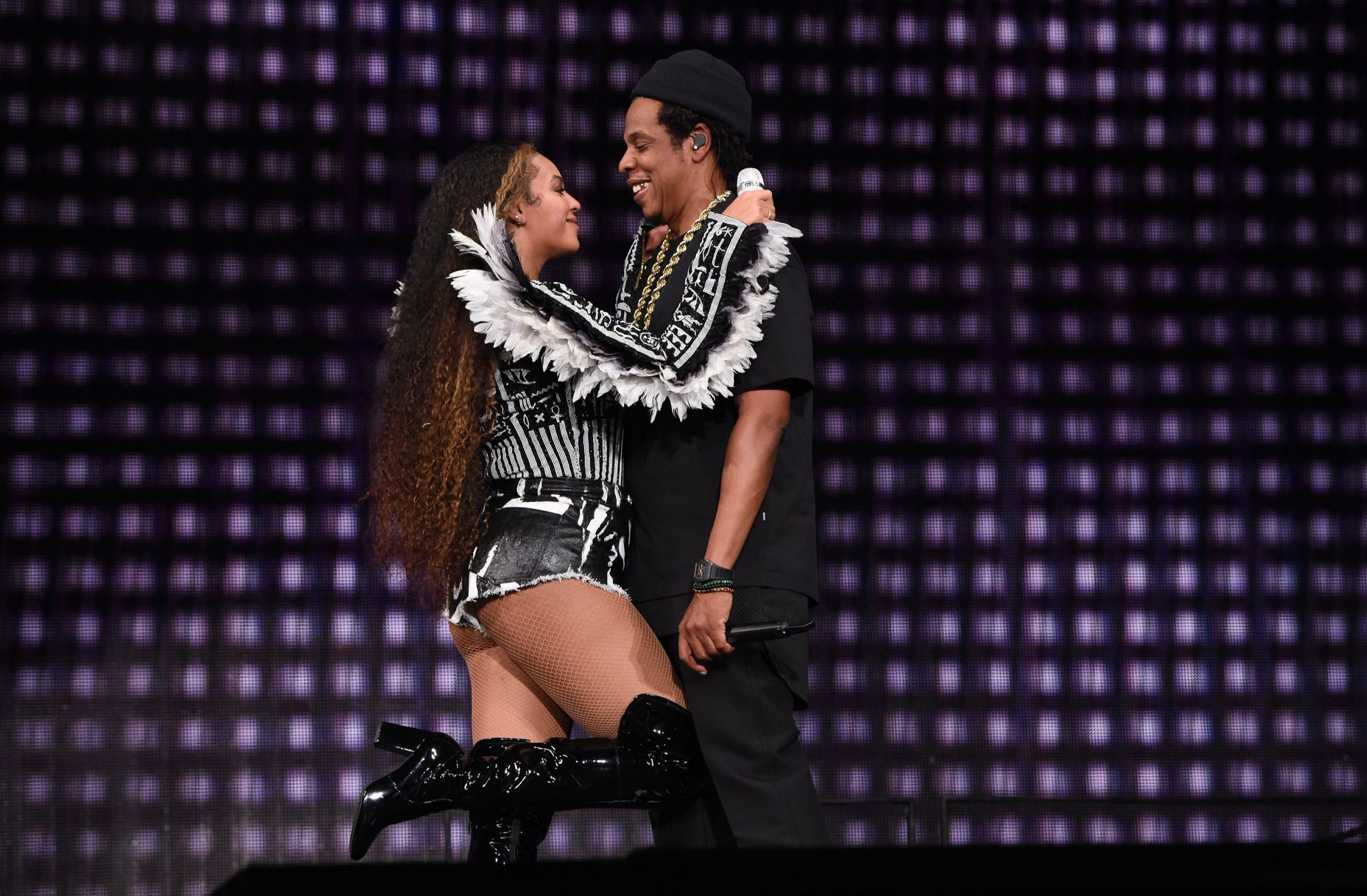 Beyonce serenades Jay Z with sweet singalong at his 49th birthday party in South Africa