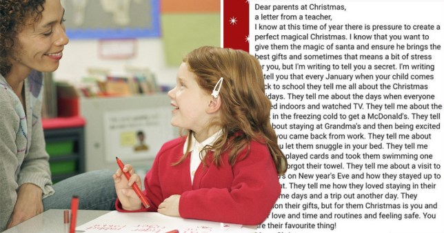 Christmas Gifts For Kids.Teacher Says Kids Value Family Moments More Than Christmas