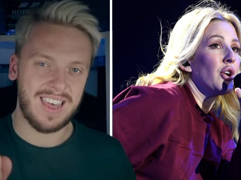 JaackMaate and Ellie Goulding have got beef and everyone is confused