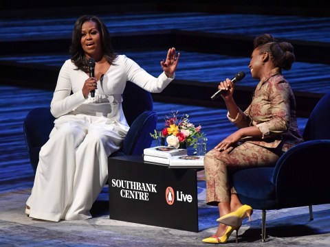 'There's no room for mean girls in life', says Michelle Obama