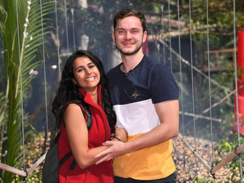 Who is Sair Khan's Our Girl star boyfriend Simon Lennon as he greets her during I'm A Celebrity eviction?
