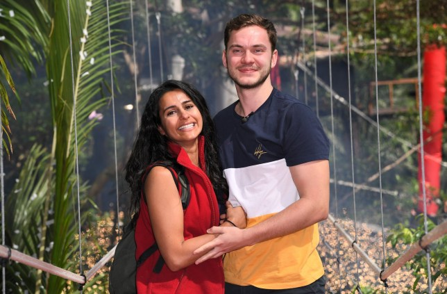 Mandatory Credit: Photo by James Gourley/ITV/REX (10012796r) Sair Khan is evicted and is met by boyfriend Simon Lennon 'I'm a Celebrity... Get Me Out of Here!' TV Show, Series 18, Australia - 03 Dec 2018
