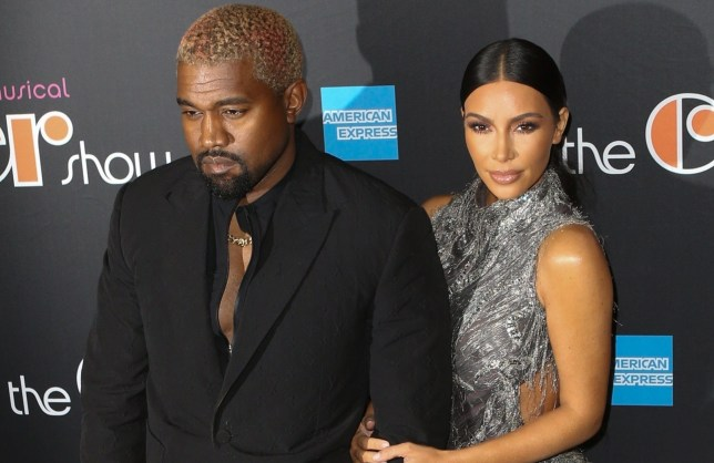 """New York, NY - Kim Kardashian and Kanye West look striking arriving at Cher's opening night at her Broadway musical, """"The Cher Show."""" Pictured: Kanye West, Kim Kardashian BACKGRID USA 3 DECEMBER 2018 USA: +1 310 798 9111 / usasales@backgrid.com UK: +44 208 344 2007 / uksales@backgrid.com *UK Clients - Pictures Containing Children Please Pixelate Face Prior To Publication*"""
