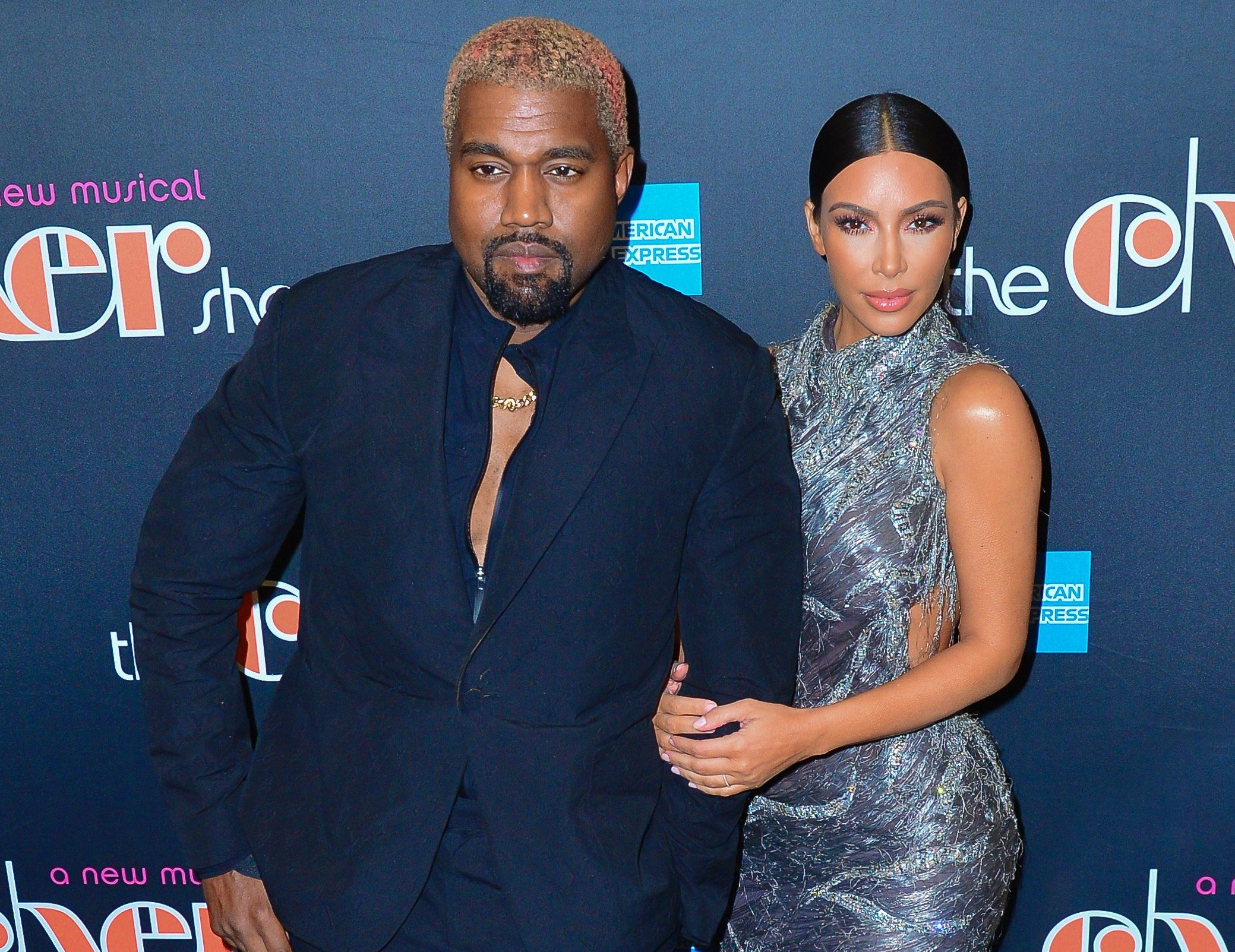 Kim Kardashian and Kanye West hit the red carpet for Cher's new musical on Broadway. 03 Dec 2018 Pictured: Kim Kardashian and Kanye West. Photo credit: MEGA TheMegaAgency.com +1 888 505 6342