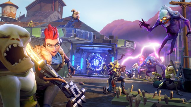 Still from the epicly successful computer game Fortnite. See SWNS story SWBRfortnite; Several schools in Gloucestershire have sent letters to parents voicing concerns about the Fortnite game. The multiplayer online craze pits players against 99 others in a frantic fight for survival, where the last gamer standing is the winner. It was released in 2017 and has seen thousands of children become hooked thanks to its cartoon-like graphics and competitive nature. Gamers need to stay alive as an individual or as part of a team, fighting off monsters, building forts and defending the island?s survivors in around 20 minutes.