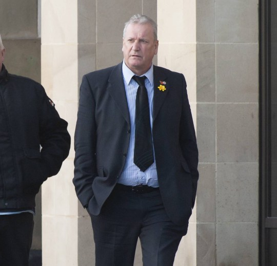 """Dated: 04/12/2018 Williwam Charlton aka. Billy Charlton pictured arriving at Newcastle Quayside Crown Court today (Tuesday) See Court Copy of Protester Billy Charlton who spoke alongside Tommy Robinson last summer stirred up racial hatred during a series of public speeches, it is claimed. William Charlton's protest talks spread hatred against """"immigrants, Asians, black people and the police"""" and caused a rise in a city's racial crime and disorder, jurors have heard. See copy by North News"""
