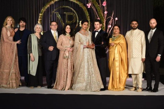 Nick Jonas and Priyanka Chopra are seen having another marriage ceremony in Delhi, India. The couple were joined by friend and family including Joe Jonas and his girlfriend Sophie Turner. 04 Dec 2018 Pictured: Nick Jonas, Priyanka Chopra, Joe Jonas, Sophie Turner. Photo credit: MEGA TheMegaAgency.com +1 888 505 6342