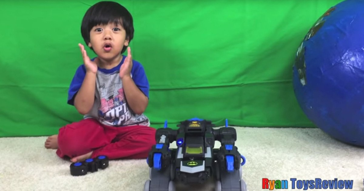 Richest YouTuber 7-year-old Ryan ToysReview to launch Nickelodeon series