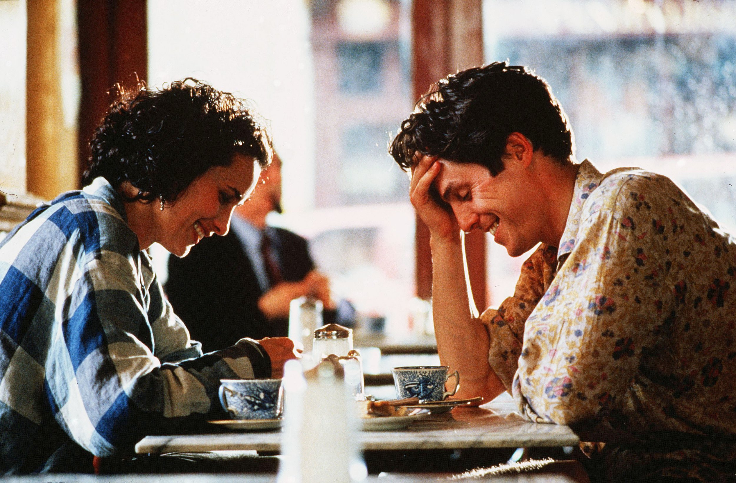 hugh grant and andie macdowell in Four weddings and a funeral