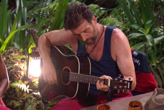 STRICT EMBARGO - NOT TO BE USED BEFORE 22:30 GMT, 05 DEC 2018 - EDITORIAL USE ONLY Mandatory Credit: Photo by ITV/REX (10014166dl) Jungle Arms - Fleur East and Nick Knowles 'I'm a Celebrity... Get Me Out of Here!' TV Show, Series 18, Australia - 05 Dec 2018