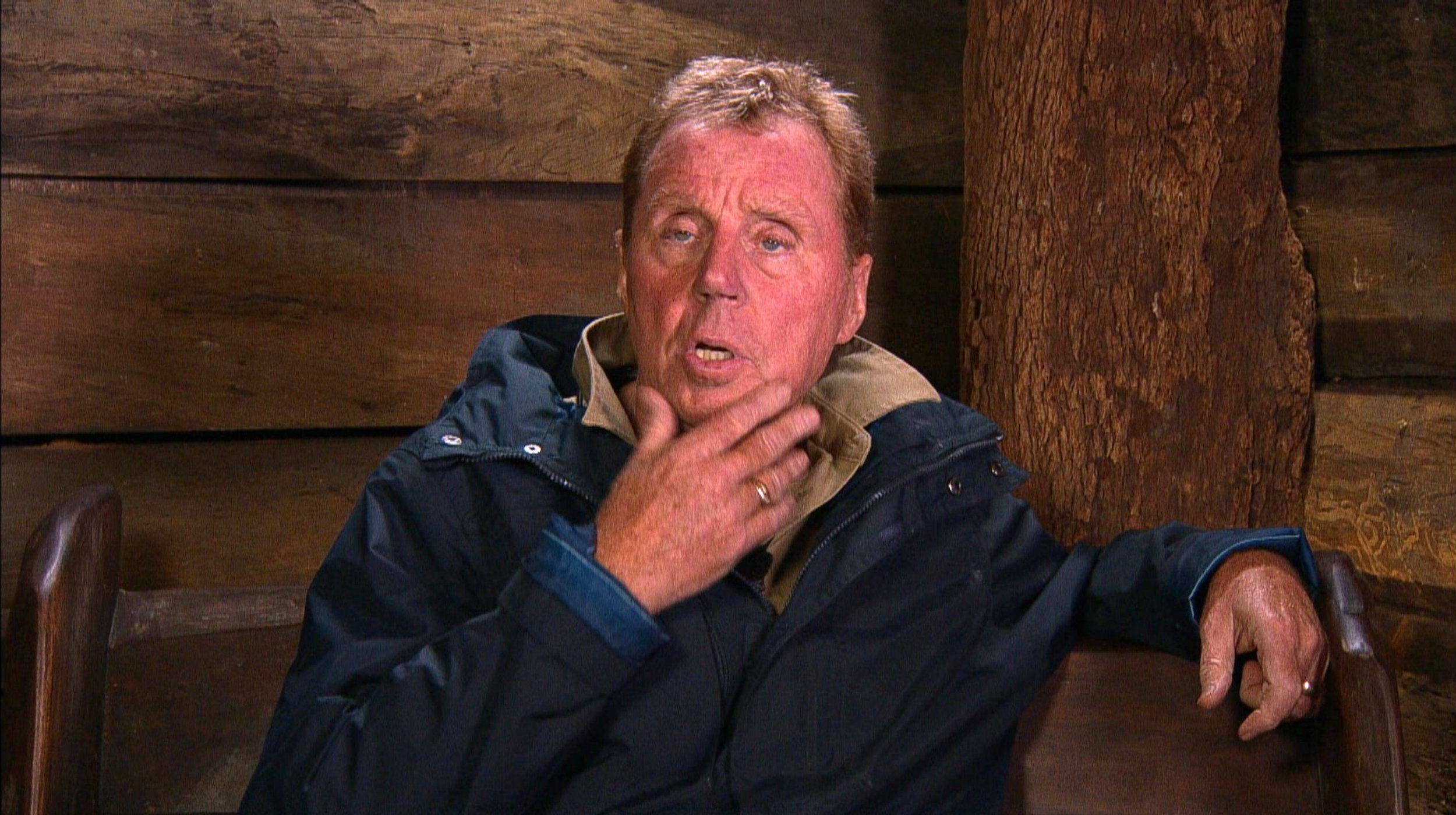 STRICT EMBARGO - NOT TO BE USED BEFORE 22:30 GMT, 05 DEC 2018 - EDITORIAL USE ONLY Mandatory Credit: Photo by ITV/REX (10014166fq) Morning Story and Rita Gets The Chop - Harry Redknapp 'I'm a Celebrity... Get Me Out of Here!' TV Show, Series 18, Australia - 05 Dec 2018