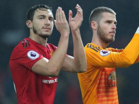 Matteo Darmian denies rift between Manchester United players and Jose Mourinho