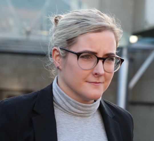 Amanda Donaldson leaves Airdrie Sheriff Court where her former employer, author JK Rowling, is taking legal action against her for allegedly using her money to go on shopping sprees. PRESS ASSOCIATION Photo. Picture date: Thursday December 6, 2018. See PA story COURTS Rowling. Photo credit should read: Andrew Milligan/PA Wire