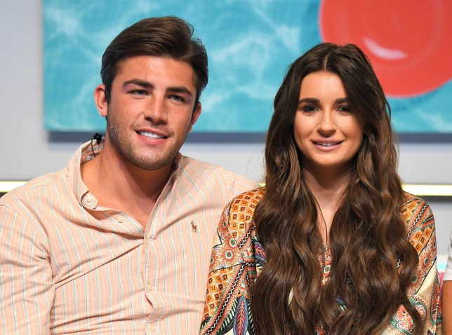 Mandatory Credit: Photo by James Gourley/REX/Shutterstock (9786870al) Dani Dyer and Jack Fincham 'Love Island: Live', ExCeL London, UK - 10 Aug 2018