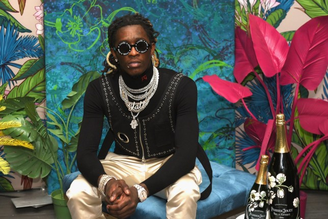 MIAMI BEACH, FL - DECEMBER 06: Rapper Young Thug attends L'Eden by Perrier-Jou??t on December 6, 2018 in Miami Beach, Florida. (Photo by Andrew Toth/Getty Images for Perrier-Jou??t)