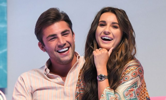 Mandatory Credit: Photo by James Gourley/REX (9786870ai) Dani Dyer and Jack Fincham 'Love Island: Live', ExCeL London, UK - 10 Aug 2018