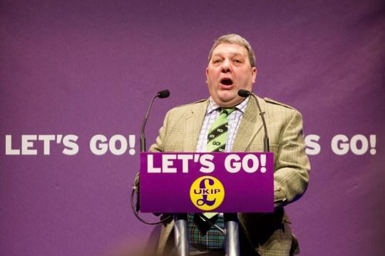 1168ec254587 Mandatory Credit  Photo by Vickie Flores REX Shutterstock (5600074q)  Scottish MEP. David Coburn ...