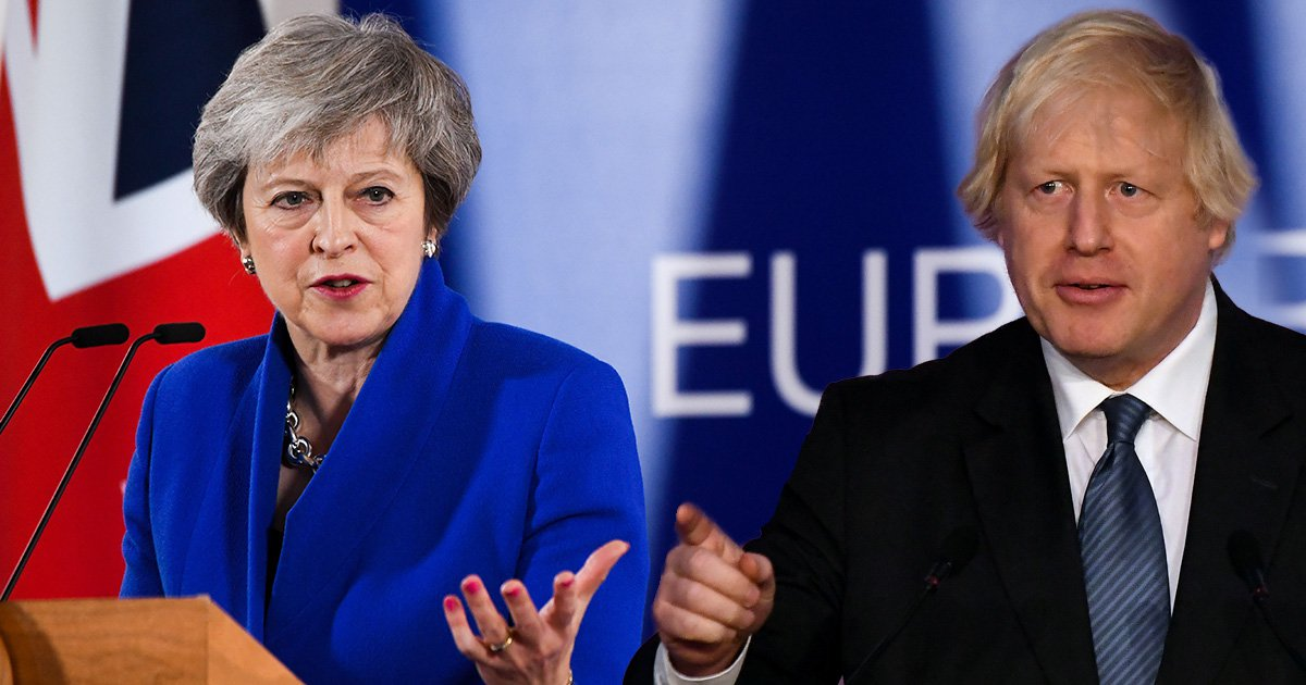 Brexit terms 'are like being on losing side of a war', says Boris