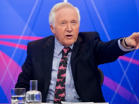 When is David Dimbleby's last Queston Time and who is replacing him?