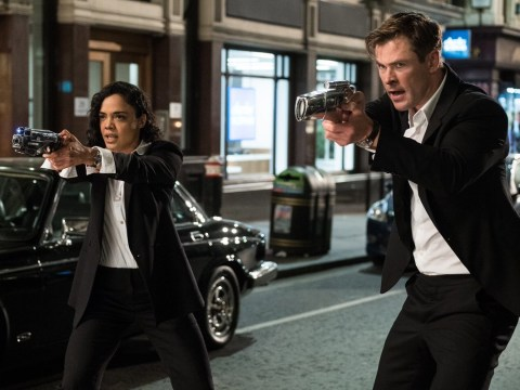 First Men in Black International photo sees Chris Hemsworth and Tessa Thompson taking aim