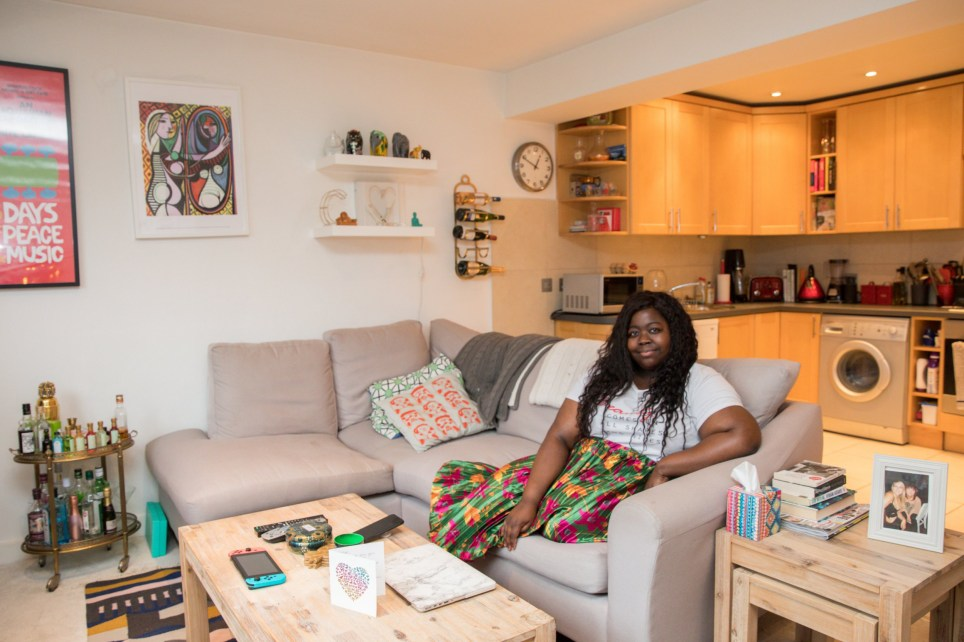 Home of Stephanie Yeboah in Streatham, South London, part of the series What I Rent.