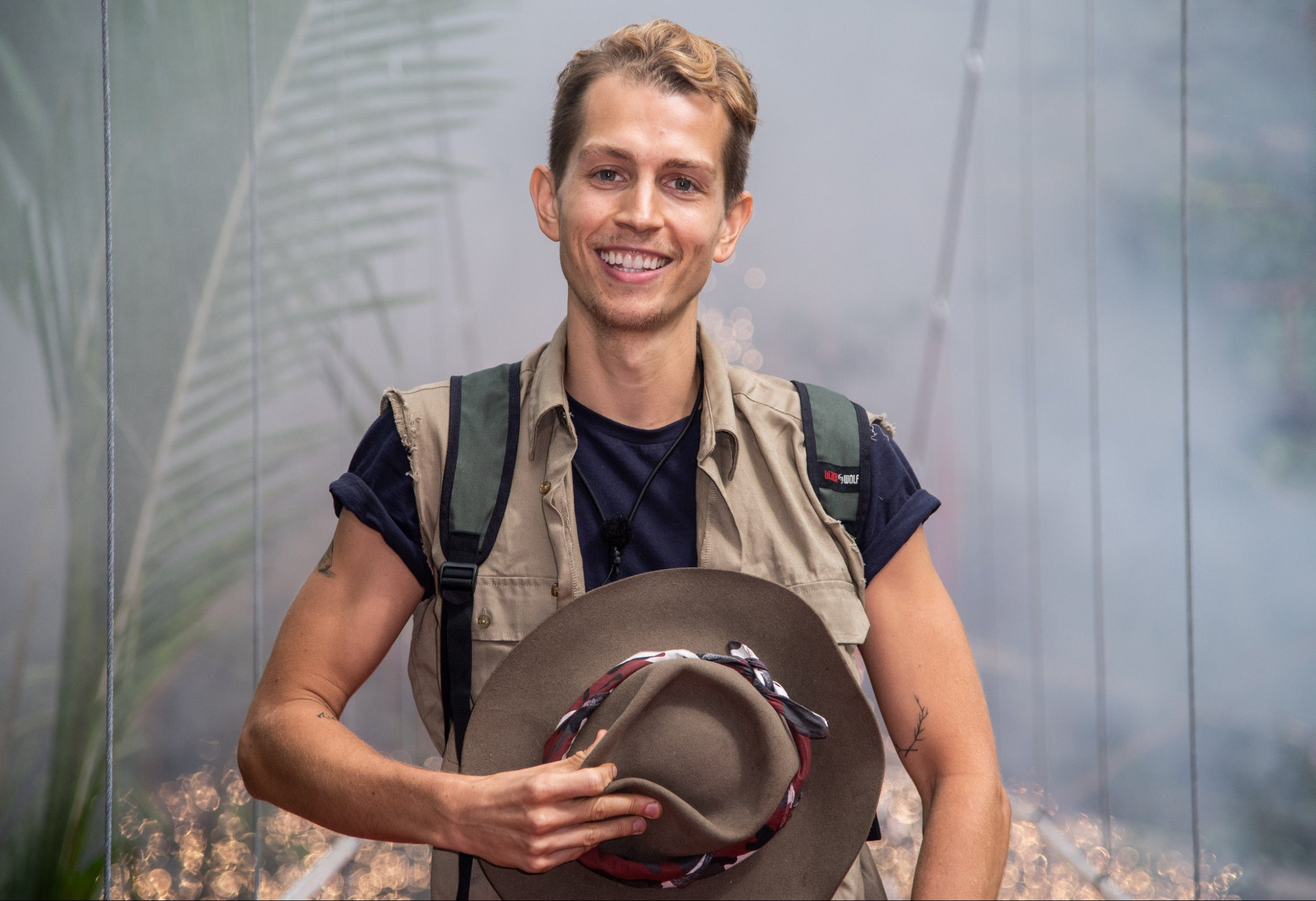 I'm A Celeb's James McVey has not yet spoken to his The Vamps bandmates