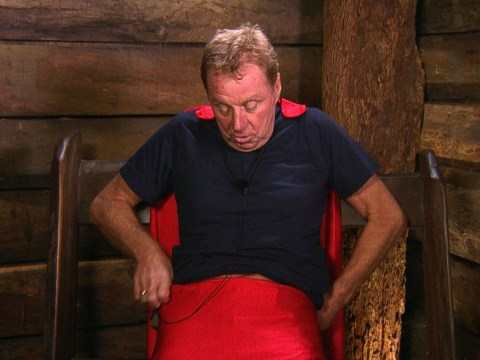I'm A Celebrity's Harry Redknapp needs to put a cork in it as he pokes fun at wife Sandra's 'great big pants'