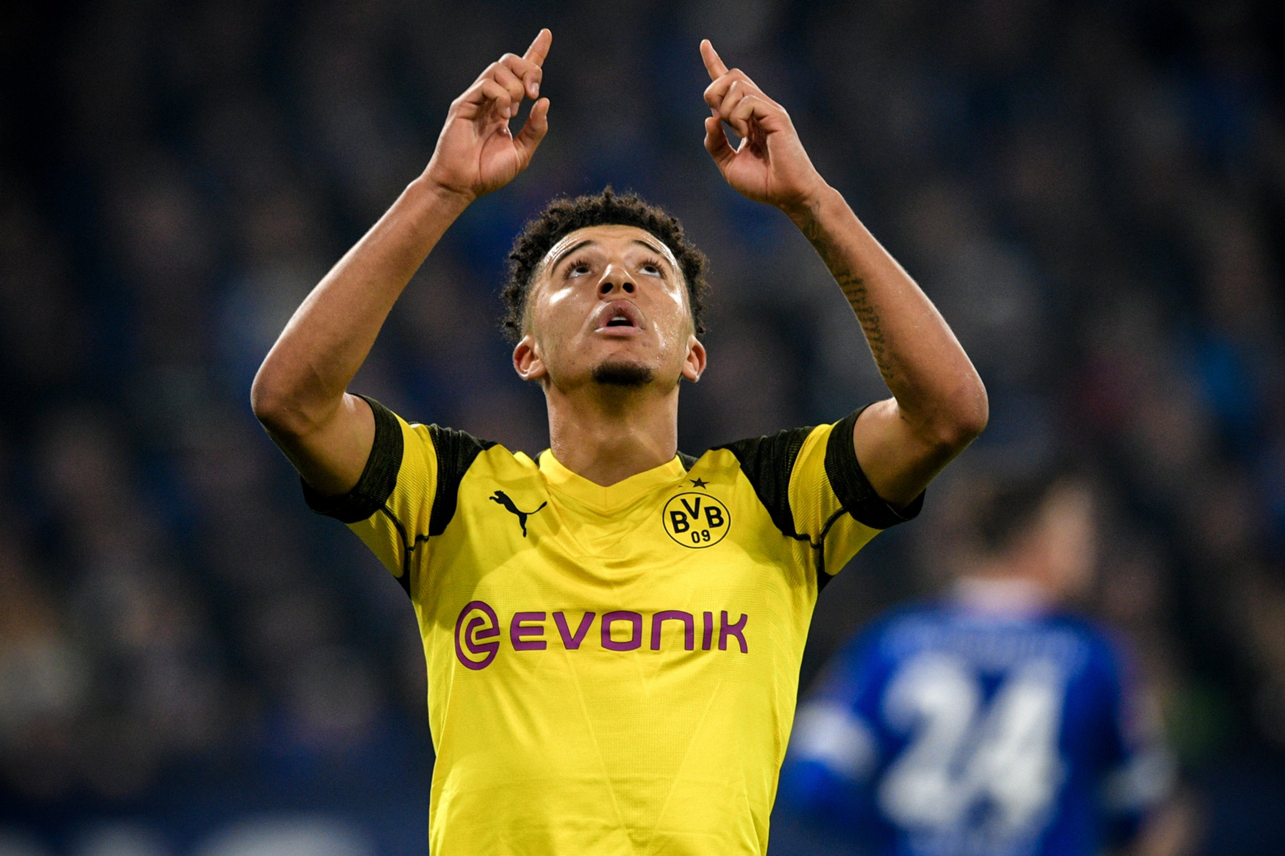 Jadon Sancho sets new Bundesliga record in Borussia Dortmund's win over Schalke