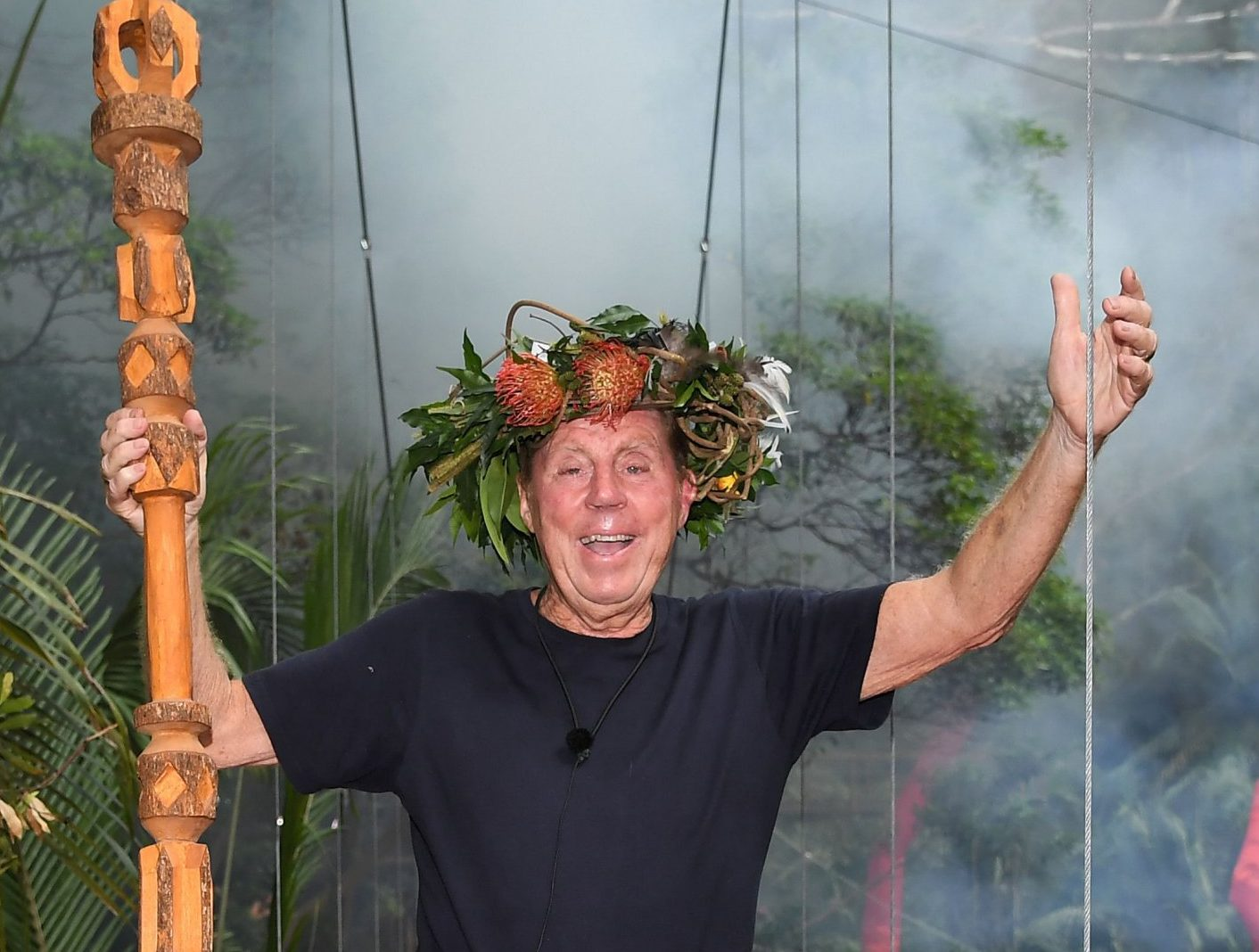 Editorial use only Mandatory Credit: Photo by James Gourley/ITV/REX (10019593d) Harry Redknapp is crowned King of the Jungle 'I'm a Celebrity... Get Me Out of Here!' TV Show, Series 18, Australia - 09 Dec 2018