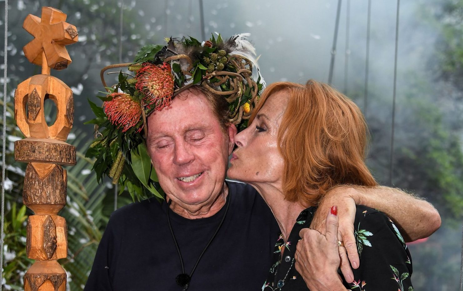 Sandra Redknapp 'finds it hard' to be in the limelight following Harry's I'm a Celeb win