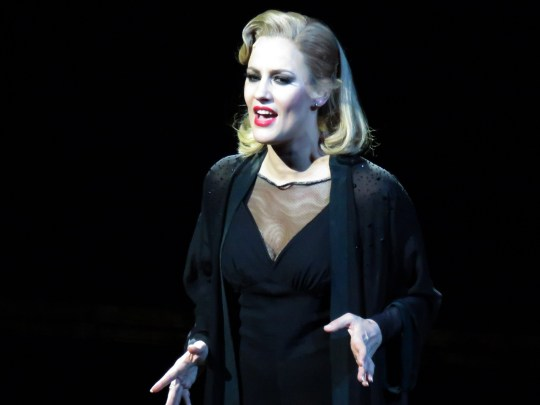 Caroline Flack Performs As Roxie Hart In 'Chicago' at the Phoenix Theatre, London Pictured: Caroline Flack Ref: SPL5048640 101218 NON-EXCLUSIVE Picture by: SplashNews.com Splash News and Pictures Los Angeles: 310-821-2666 New York: 212-619-2666 London: 0207 644 7656 Milan: 02 4399 8577 photodesk@splashnews.com World Rights,