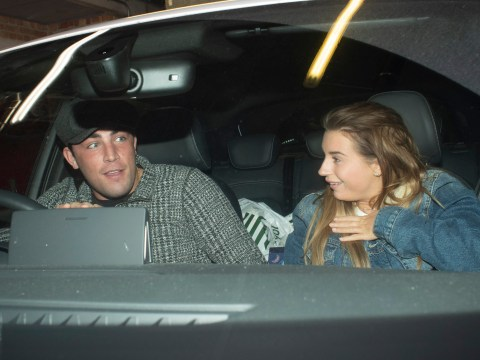 Dani Dyer and Jack Fincham prove they're back on as they're pictured leaving his family home