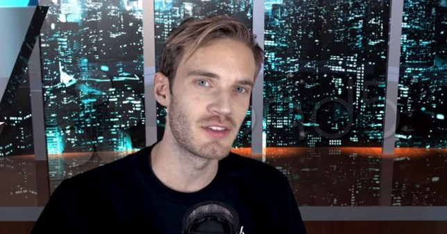 PewDiePie promoting anti-semitic youtuber Credit: PewDiePie