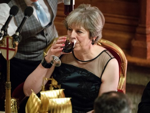 Tory Christmas party to clash with Theresa May confidence vote