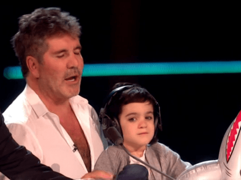 Simon Cowell's son Eric is begging to work on America's Got Talent but his dad has other ideas
