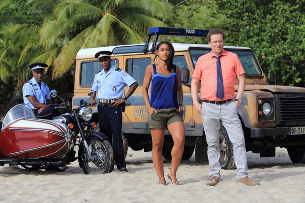 When does the new series of Death In Paradise start and who is in the cast?
