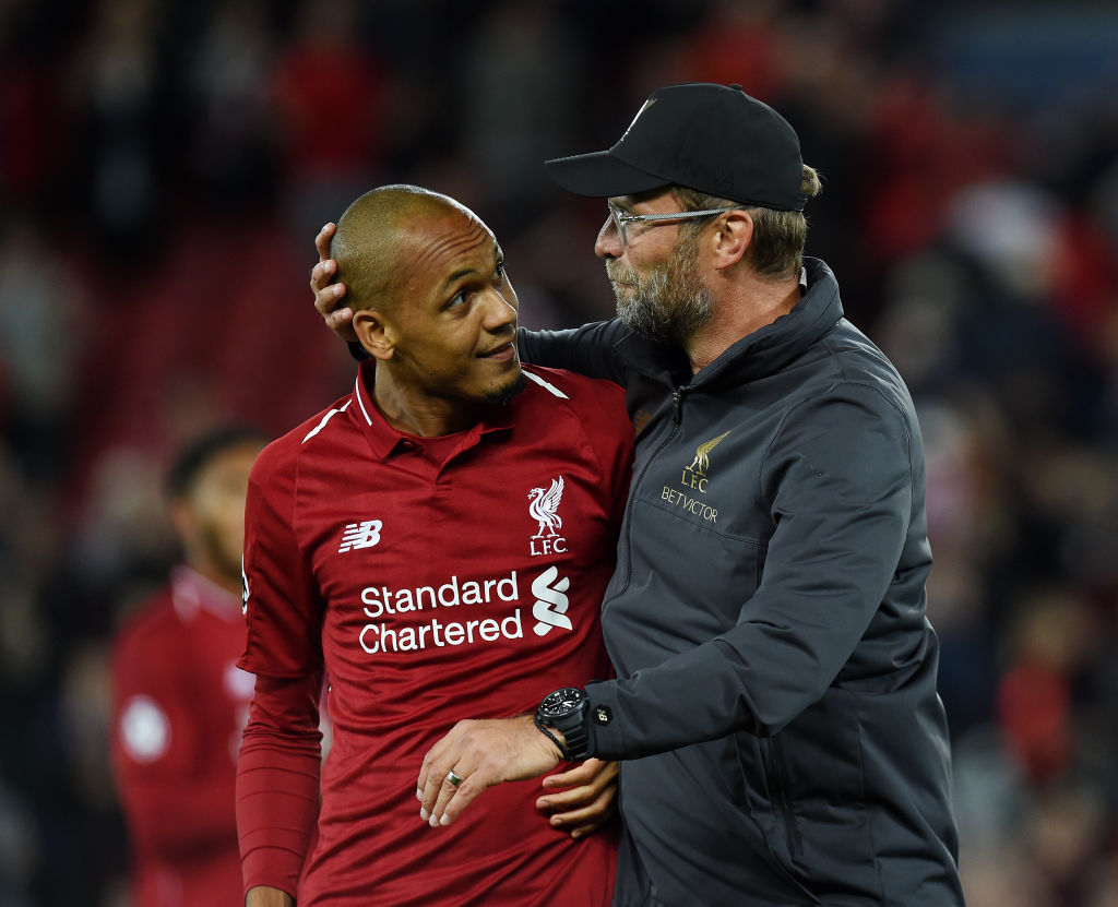 Fabinho set to play at centre-back for Liverpool's Champions League clash against Bayern Munich