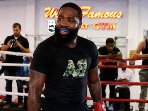 Adrien Broner predicts one punch will put Manny Pacquiao to sleep