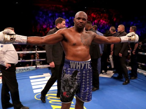 Dillian Whyte rips into Anthony Joshua and SIX other heavyweights as he chases 2019 world title