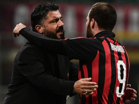 Gennaro Gattuso fears Gonzalo Higuain has already decided to leave AC Milan for Chelsea