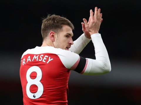 Aaron Ramsey would join ONE of Arsenal's Premier League rivals if Juventus move falls through
