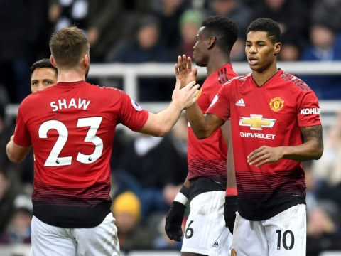 Gary Neville raves about Marcus Rashford after sensational performance against Newcastle