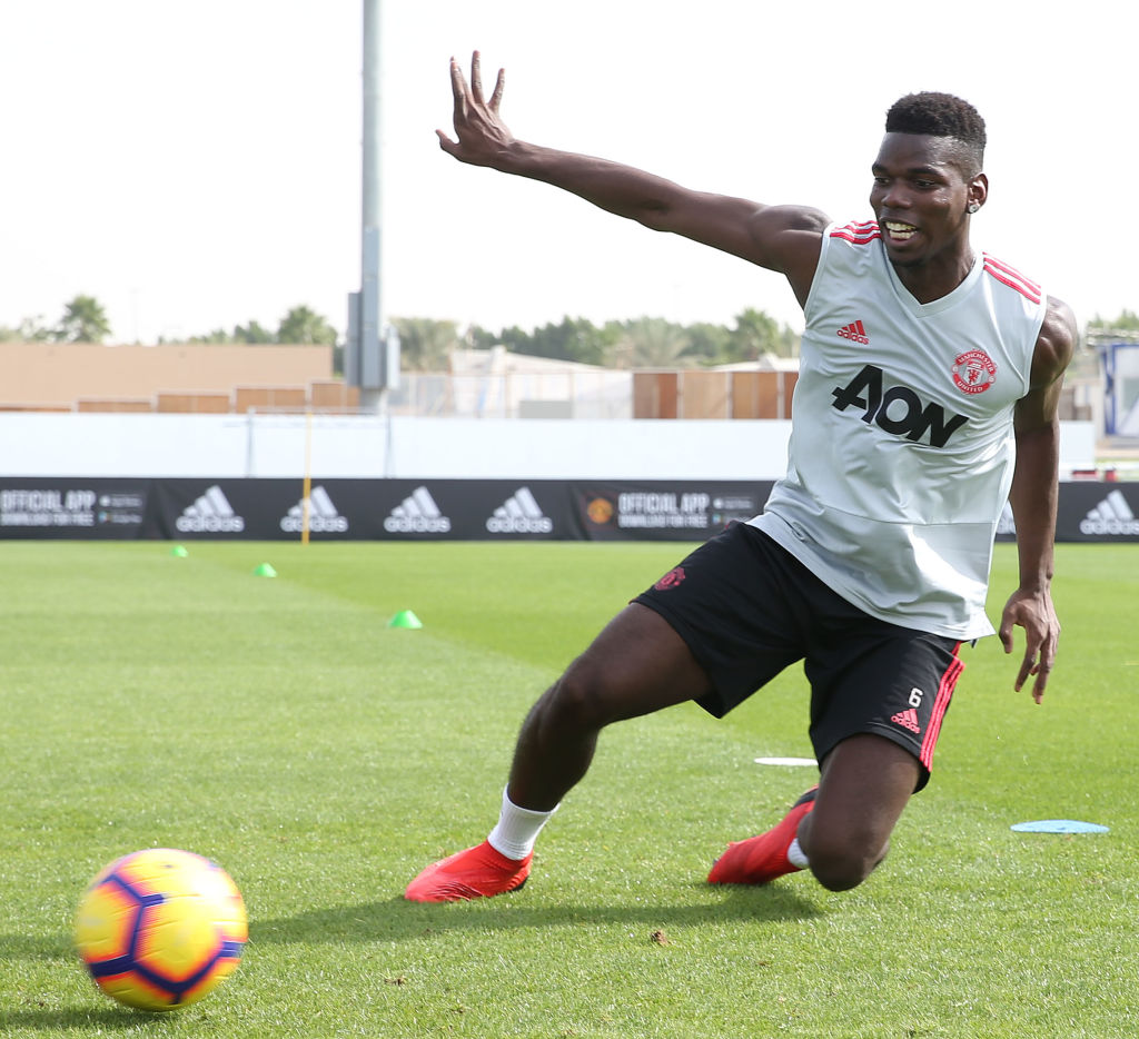 Manchester United star Paul Pogba on track to play against Tottenham after injury