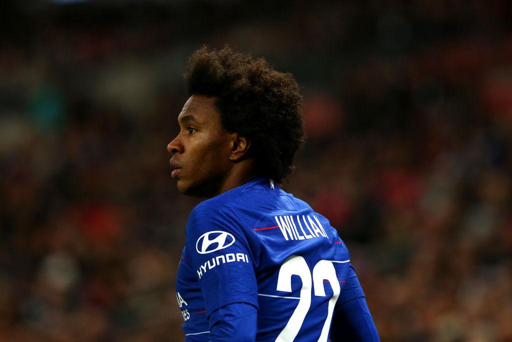 Barcelona offer Chelsea Malcom in £50m player-plus cash transfer for Willian