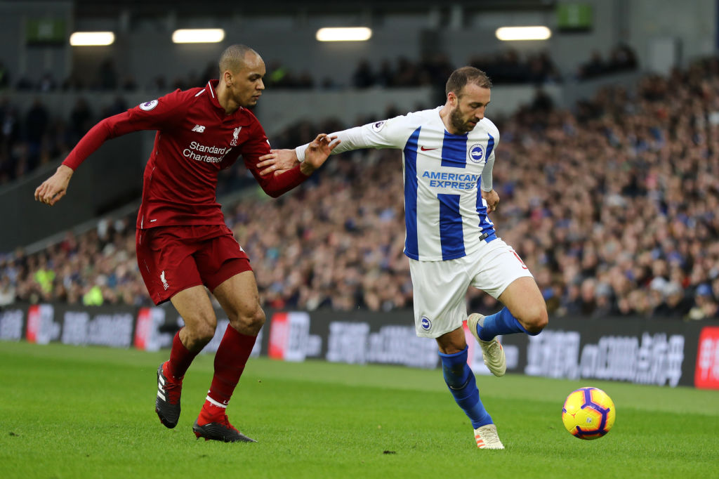 Andy Robertson hails makeshift Liverpool defender as 'different class' after win over Brighton
