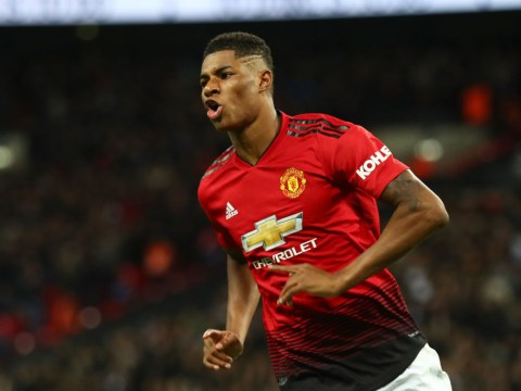 Marcus Rashford secures a Premier League goal-scoring milestone with Tottenham strike