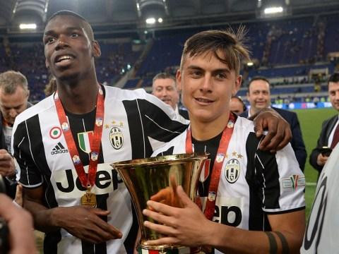 Paulo Dybala would 'like to play' with Manchester United's Paul Pogba