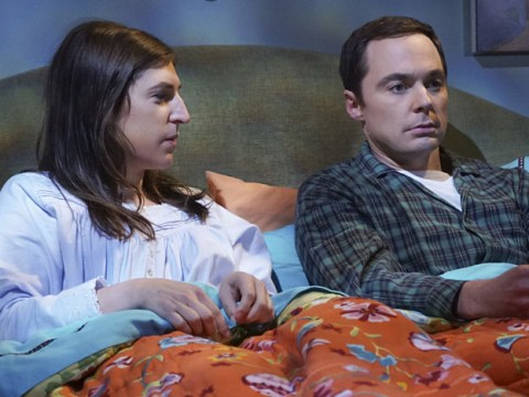 The Big Bang Theory's Mayim Bialik reveals why Amy's first kiss with Sheldon was actually pretty grim to film, thanks to Jim Parsons